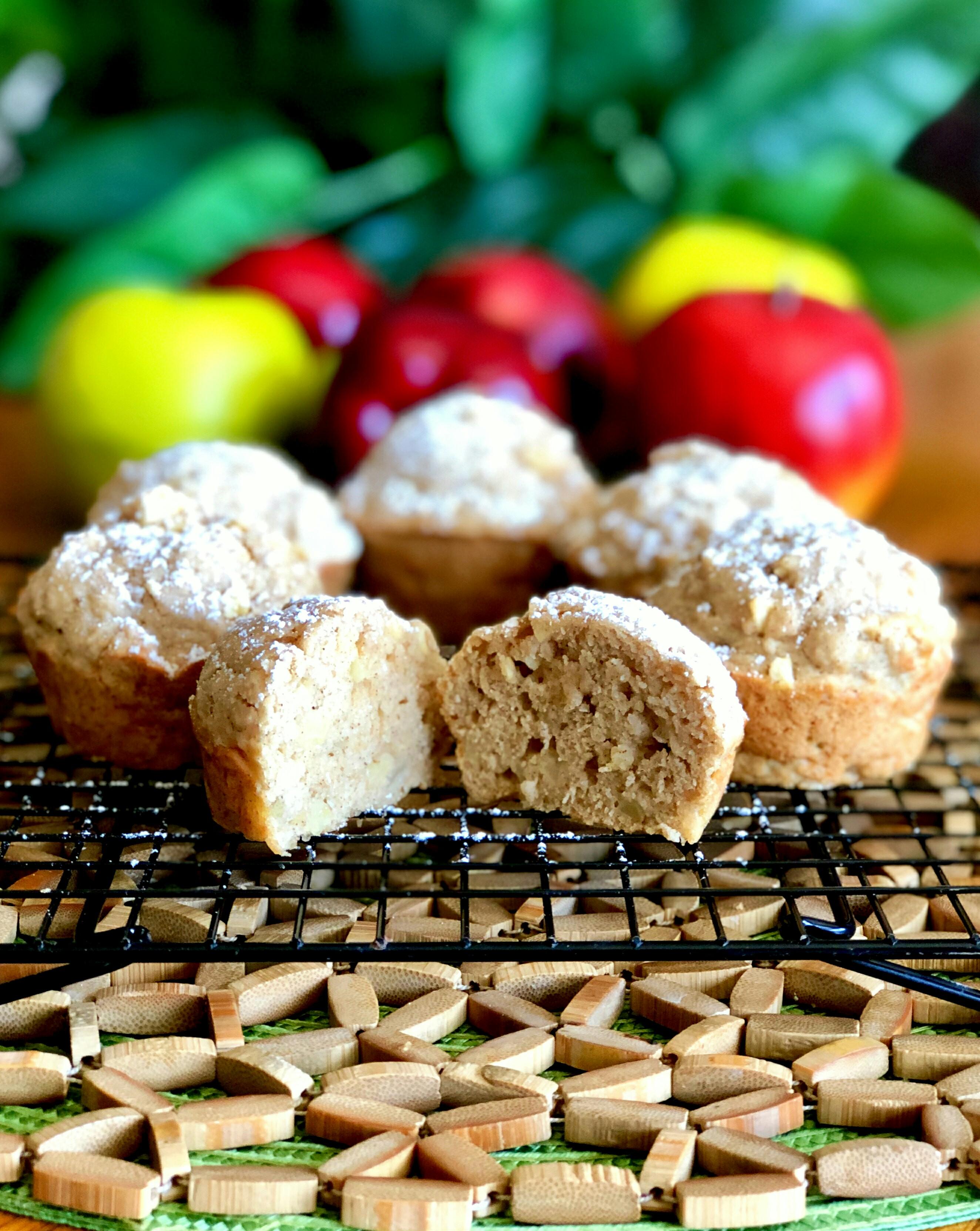 High-Fiber Maple Brekkie Muffins