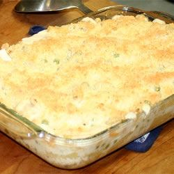 Chicken and Pea Casserole EQUILEEN