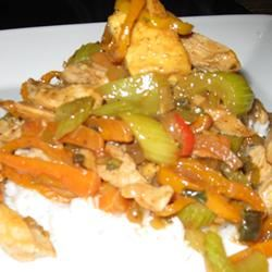 Stir-Fried Chicken with Tofu and Mixed Vegetables