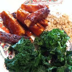 Crispy Barbequed Tofu Slices PISCHINA