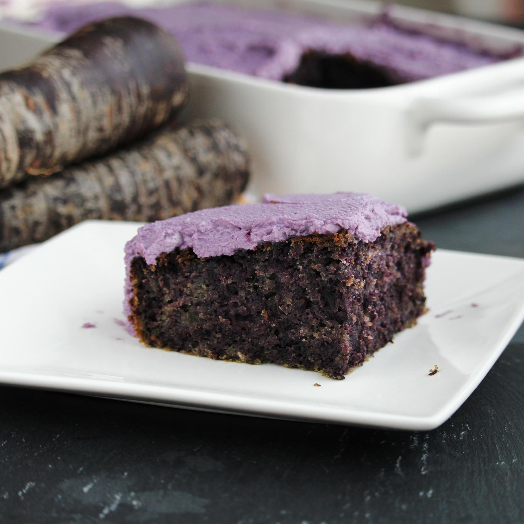 Purple Carrot Cake