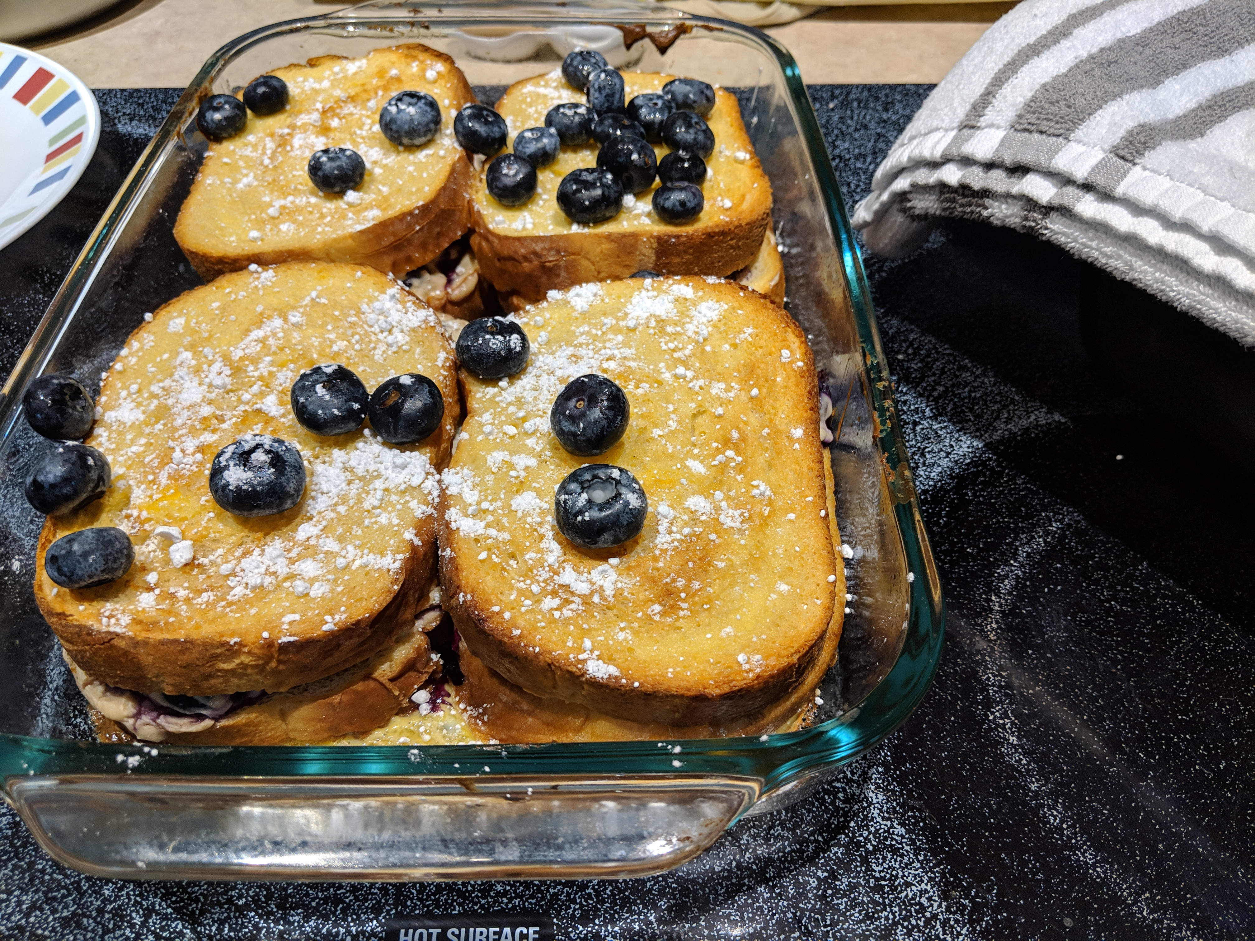 Easy Overnight Blueberry French Toast Rob Ainbinder