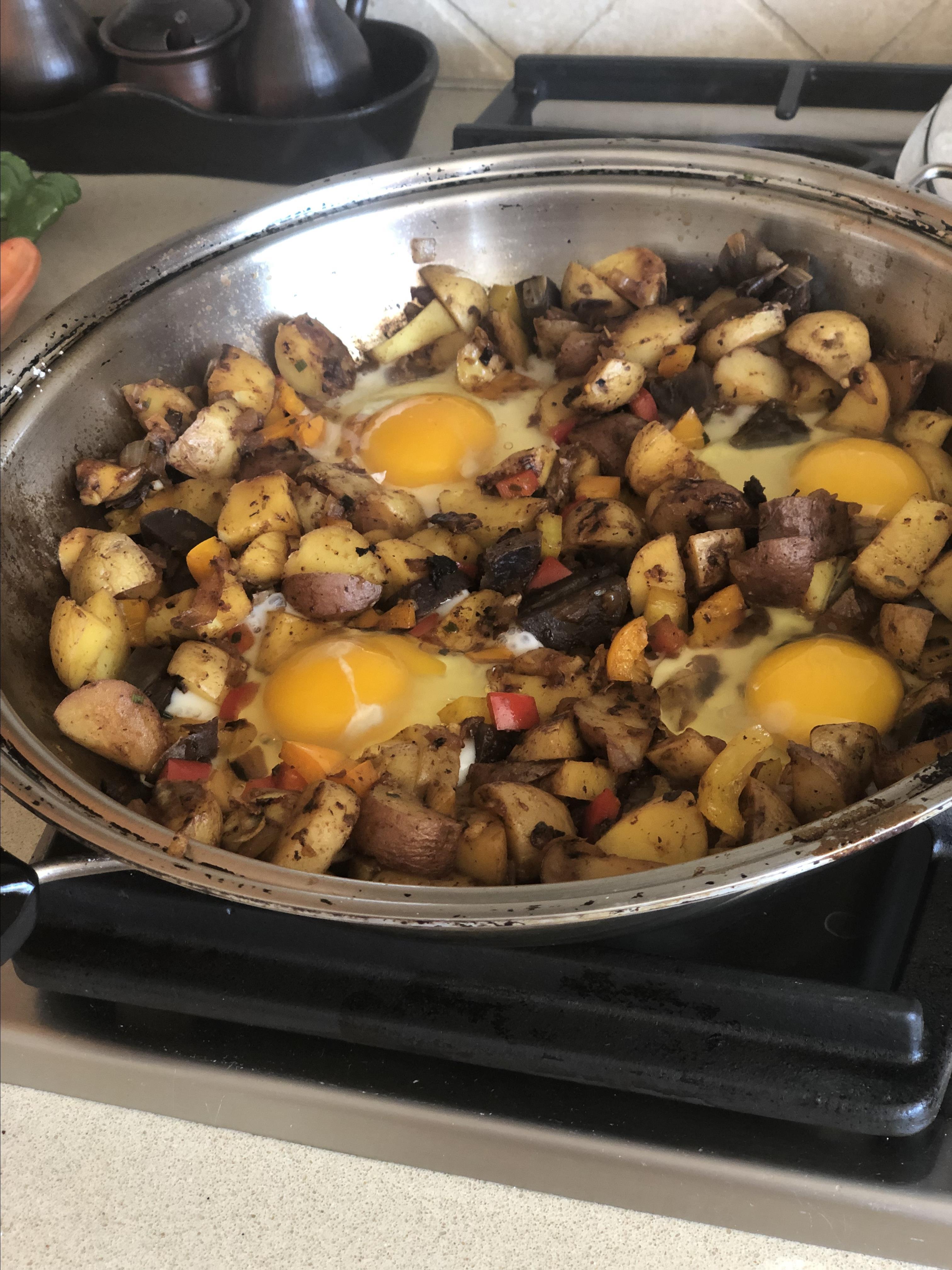 Loaded Breakfast Skillet Dafna Trites
