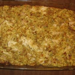 Chicken and Stuffing Casserole MommaJ