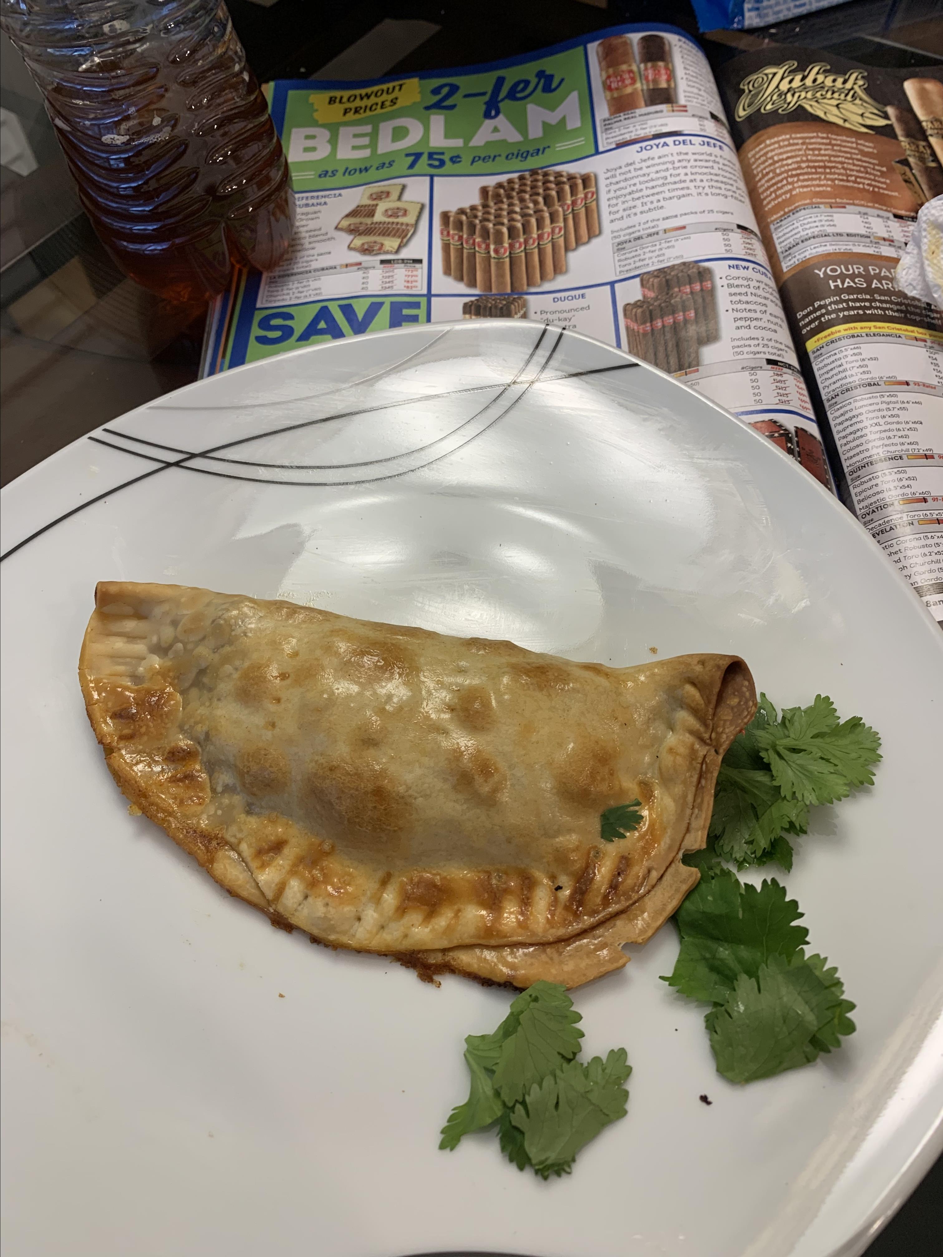 Taco Hand Pies Mark