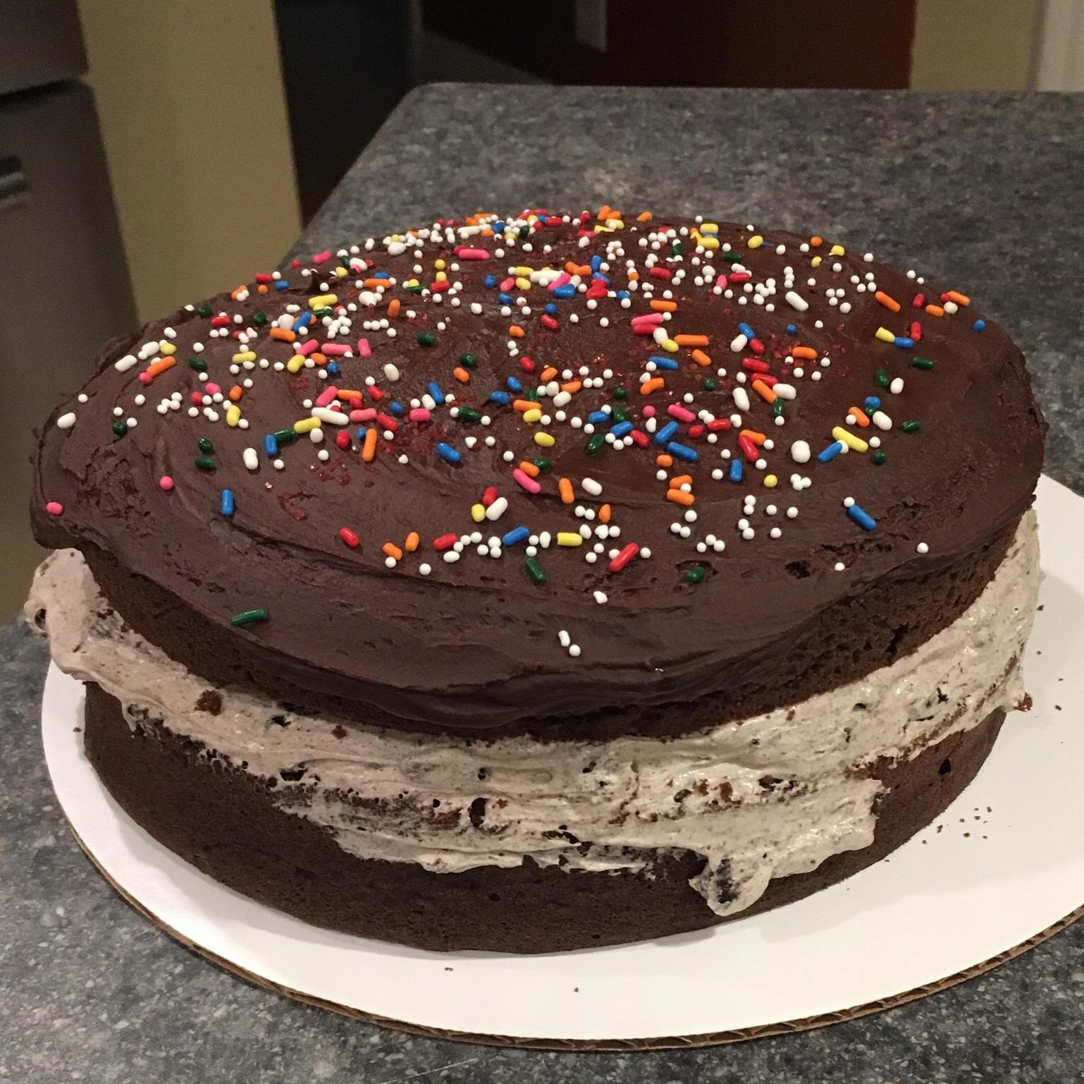 Giant OREO Cookie Cake Sparta Chris