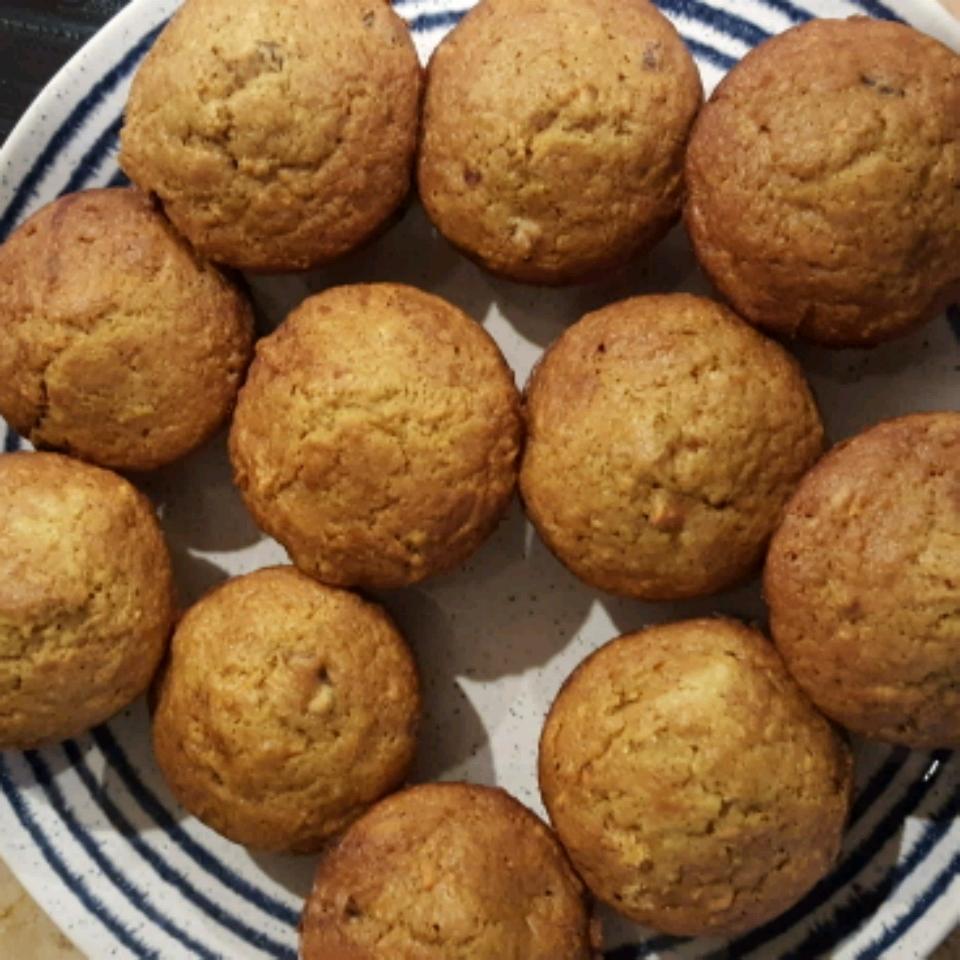 Date Flecked Orange Muffins Hannah Stumpp
