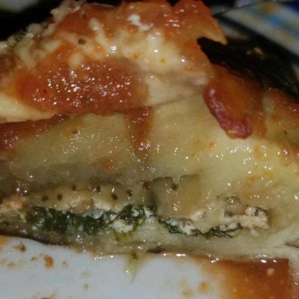 Cheesy Eggplant Rollatini Jason Gerek