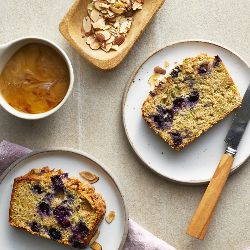 Blueberry-Lemon Zucchini Bread Trusted Brands