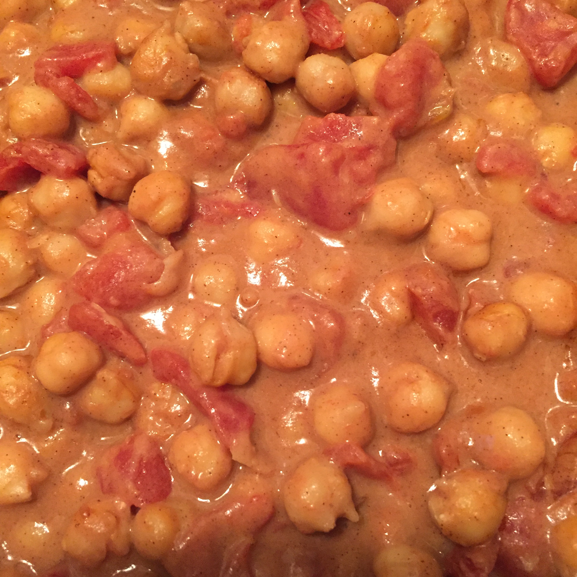 Peanut-Ginger Chickpea Curry Jan
