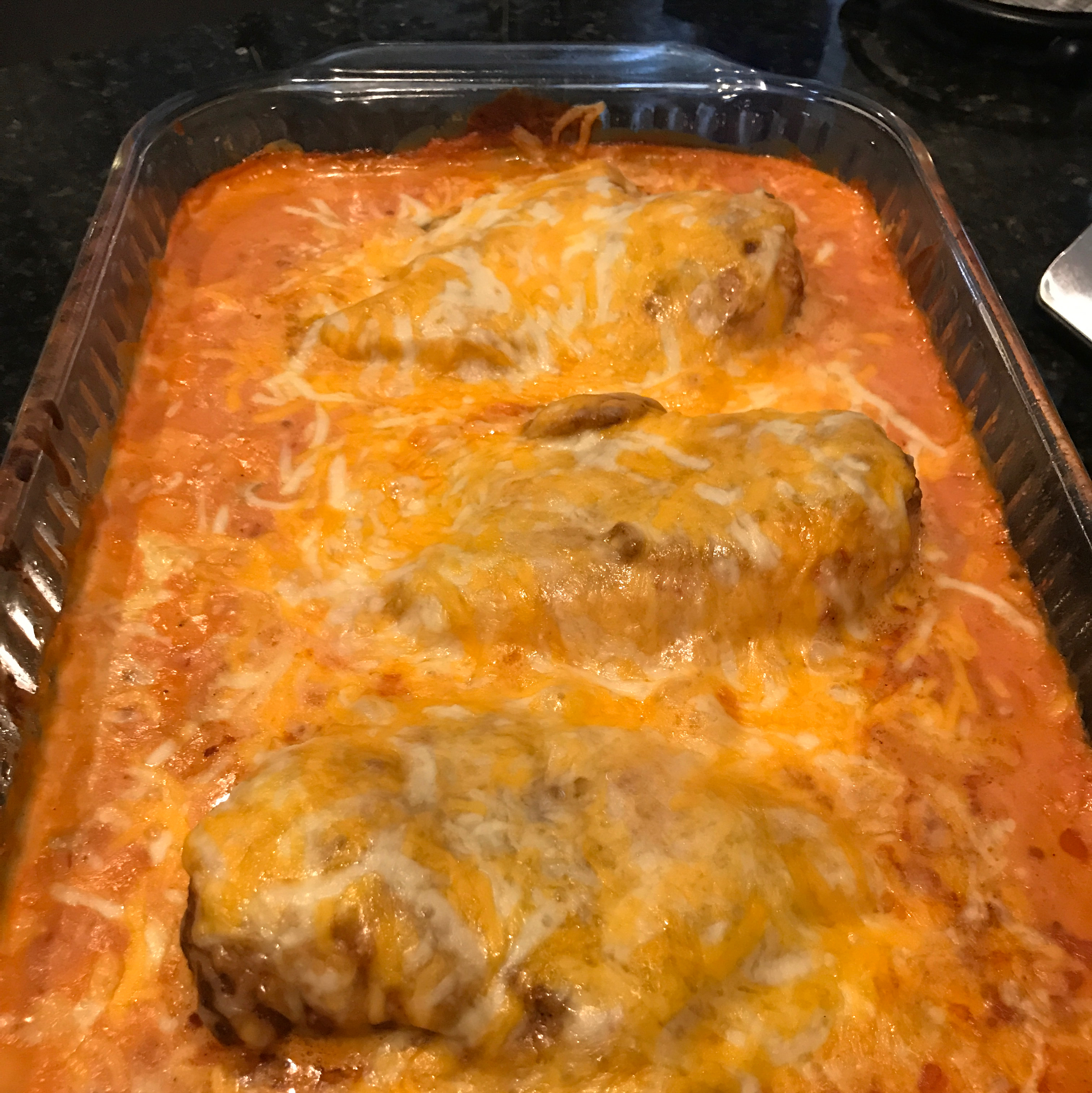 Baked Chicken with Salsa and Sour Cream Skipshot5