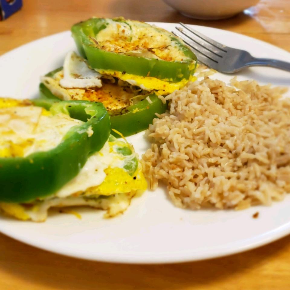 Egg in a Pepper Kenneth Bradford