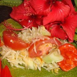 Hawaiian Green Papaya Salad