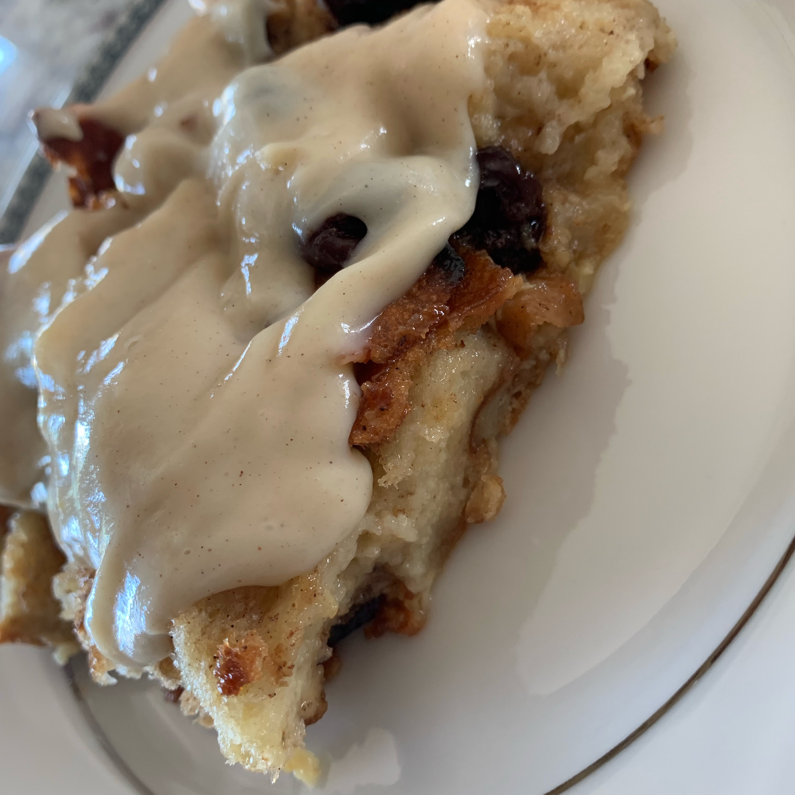Best Bread Pudding with Vanilla Sauce