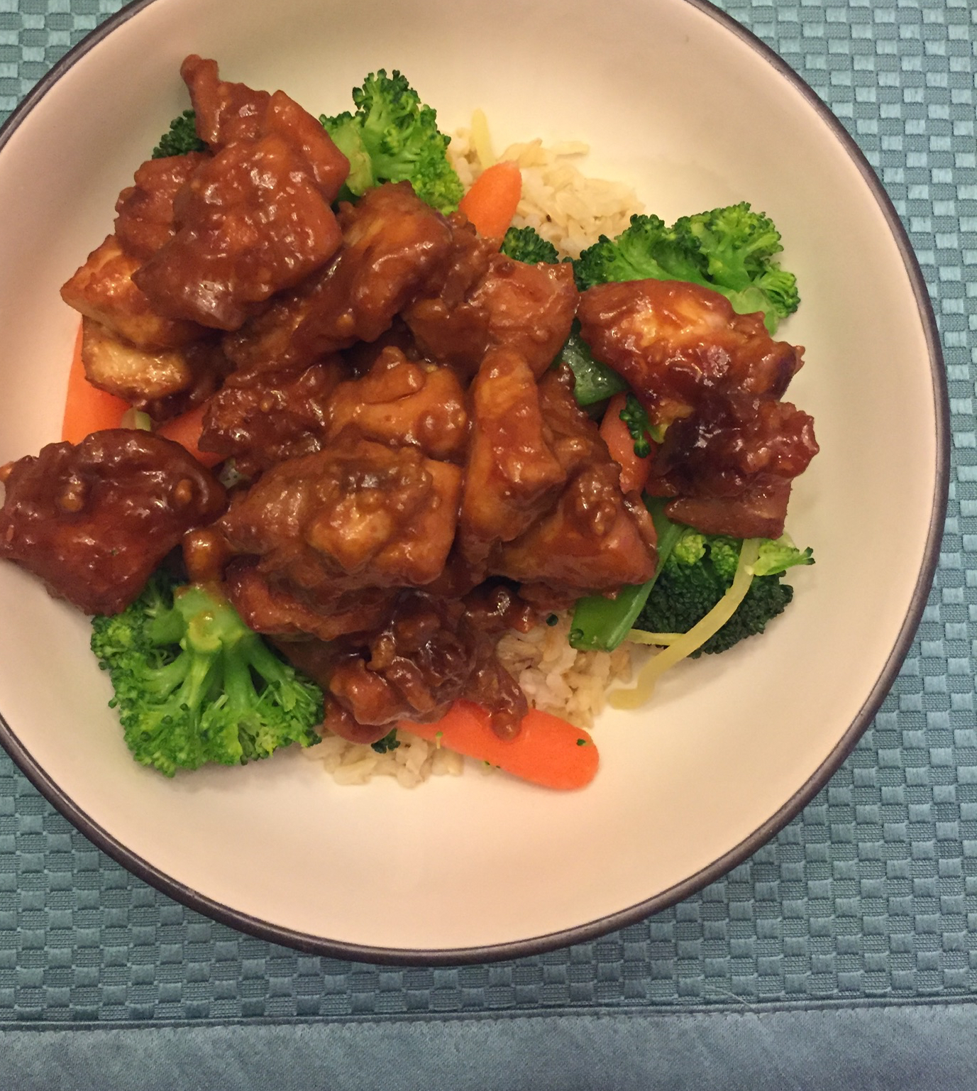 Thai Chicken Thigh Bake thom7833