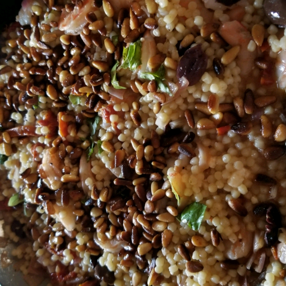 Couscous with Olives and Sun-Dried Tomato Carol Aker-Finney