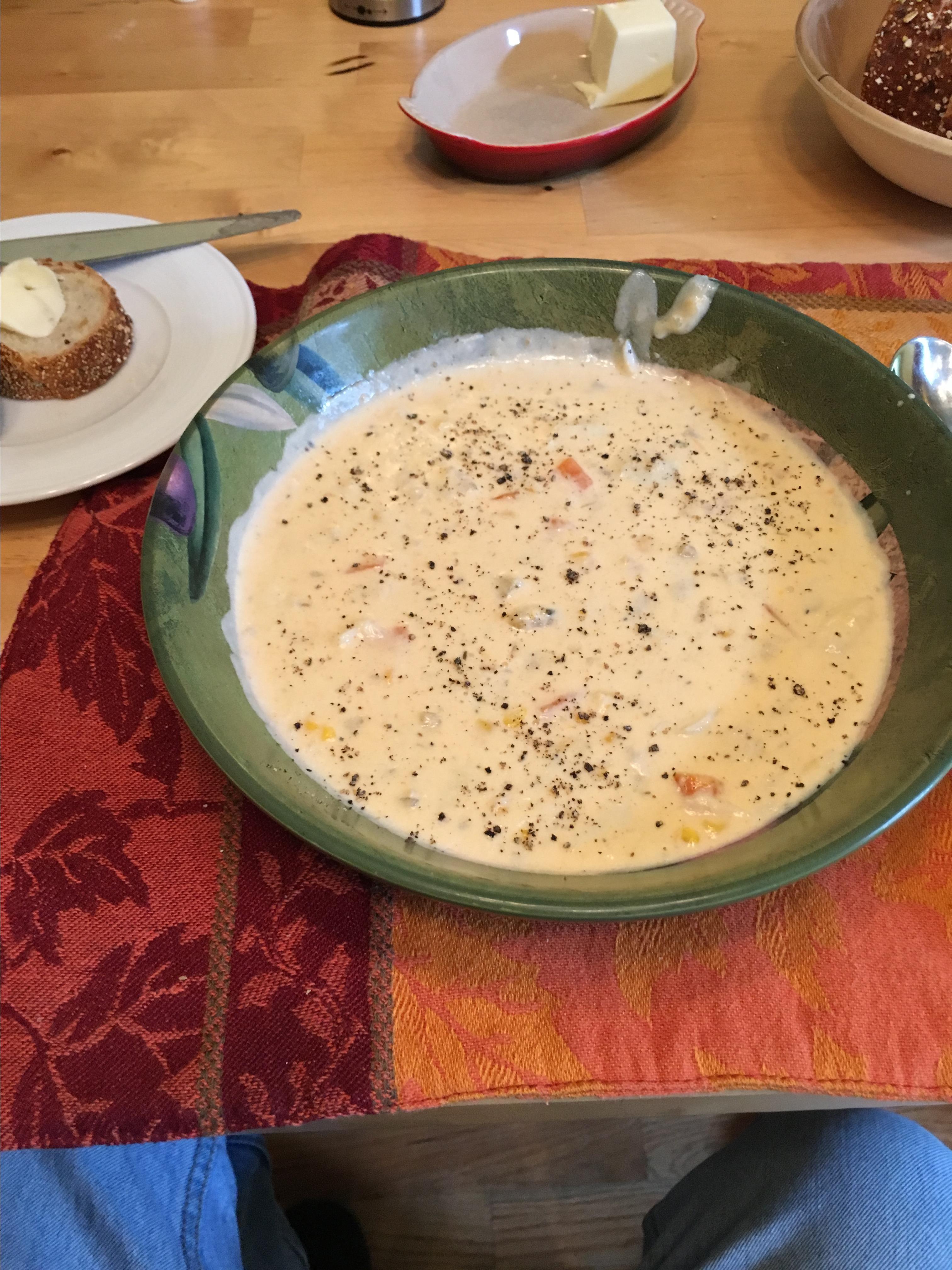 Crabmeat Bisque Made Easy Bob