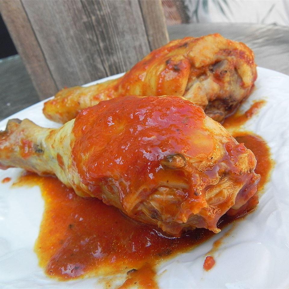 Loga's Microwave Chicken