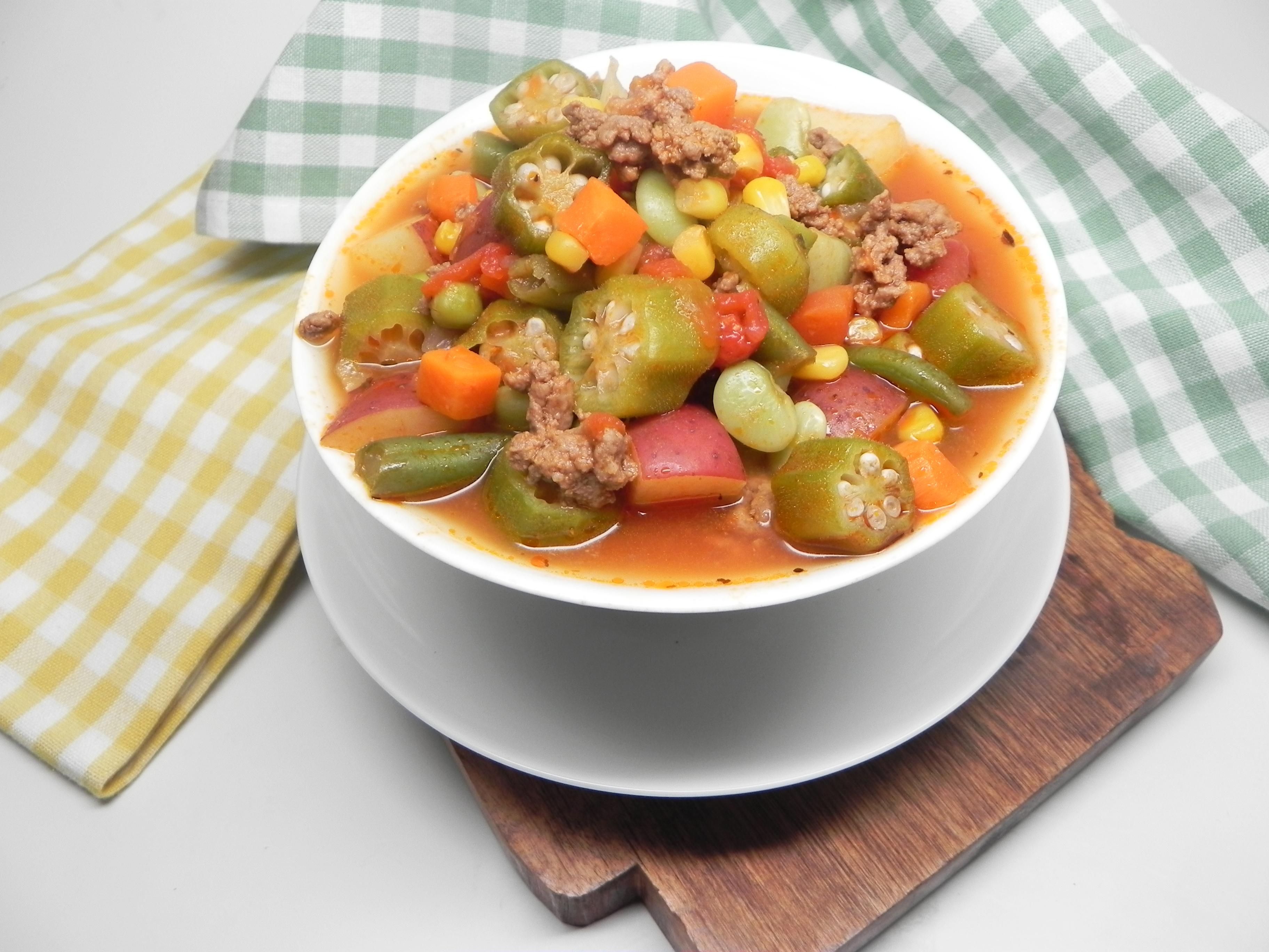 Granny's Okra Soup
