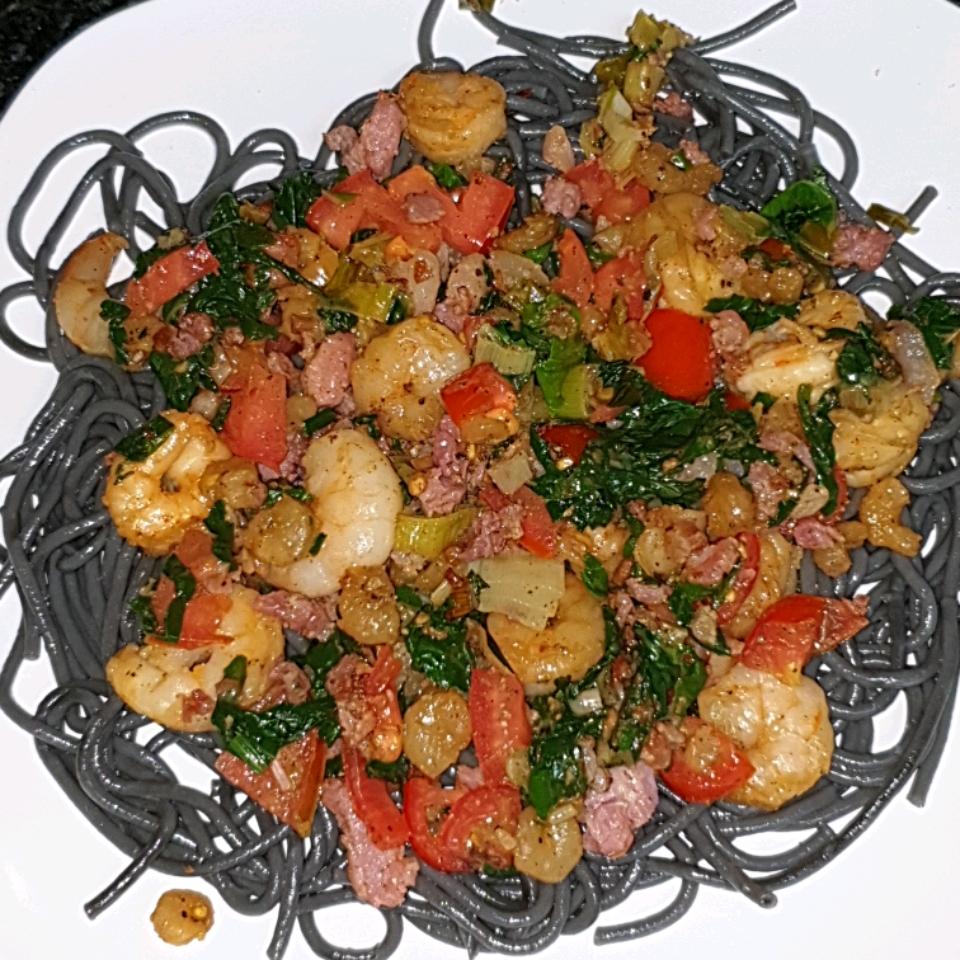 Naked Shrimp Pasta Jonathan Thackwray