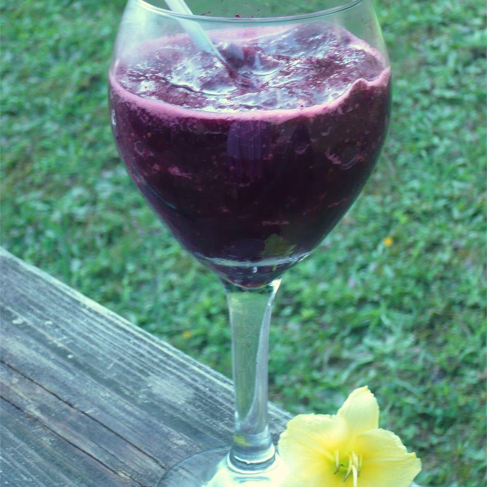 Purple Monstrosity Fruit Smoothie