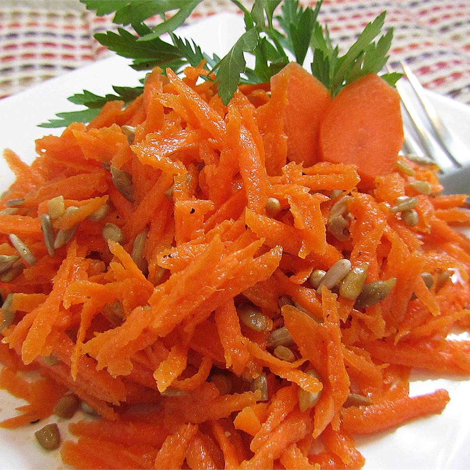 Three Ingredient Carrot Slaw
