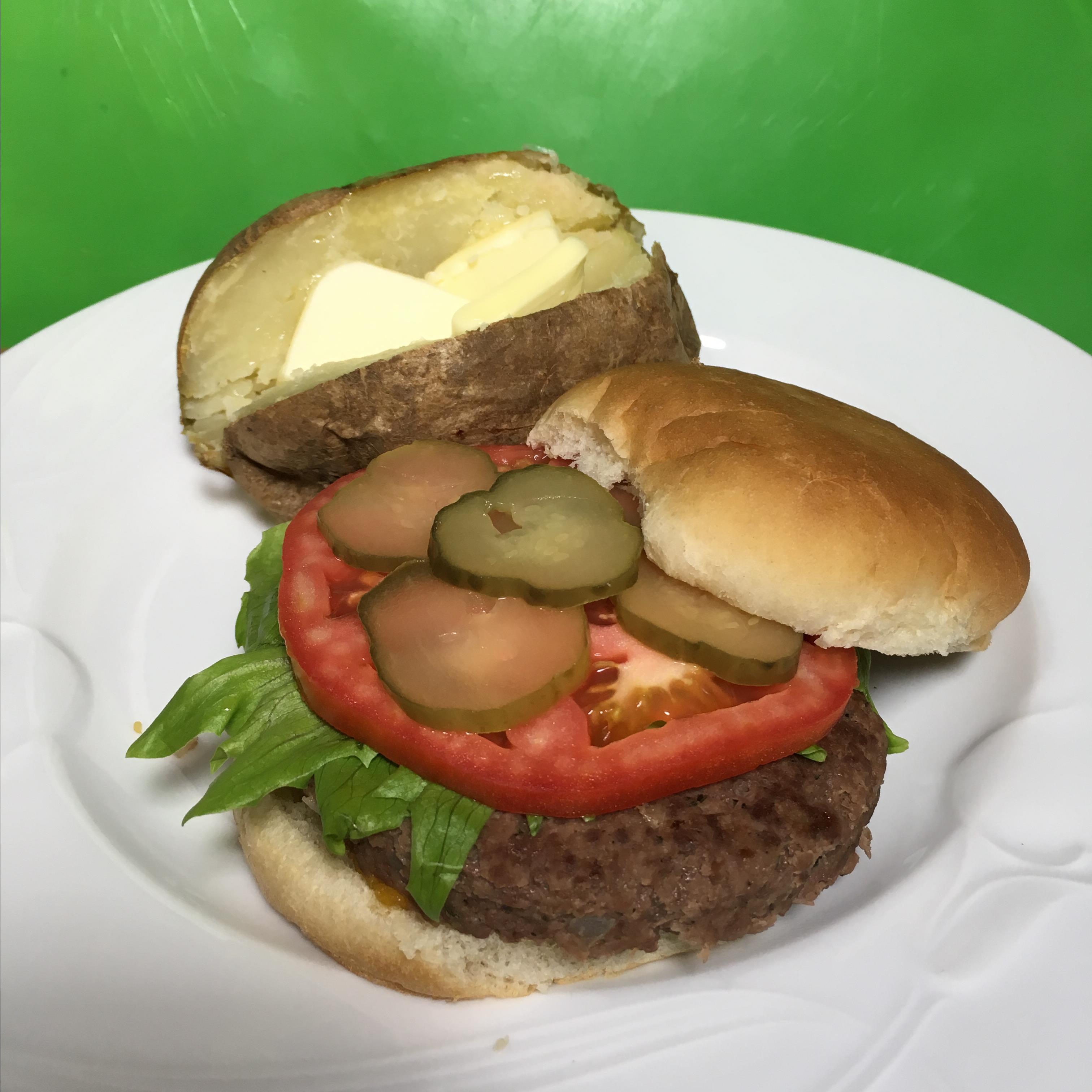 Ranch Burgers from Hidden Valley® Paula