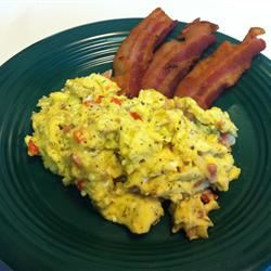 Smoky Scrambled Eggs Valorie