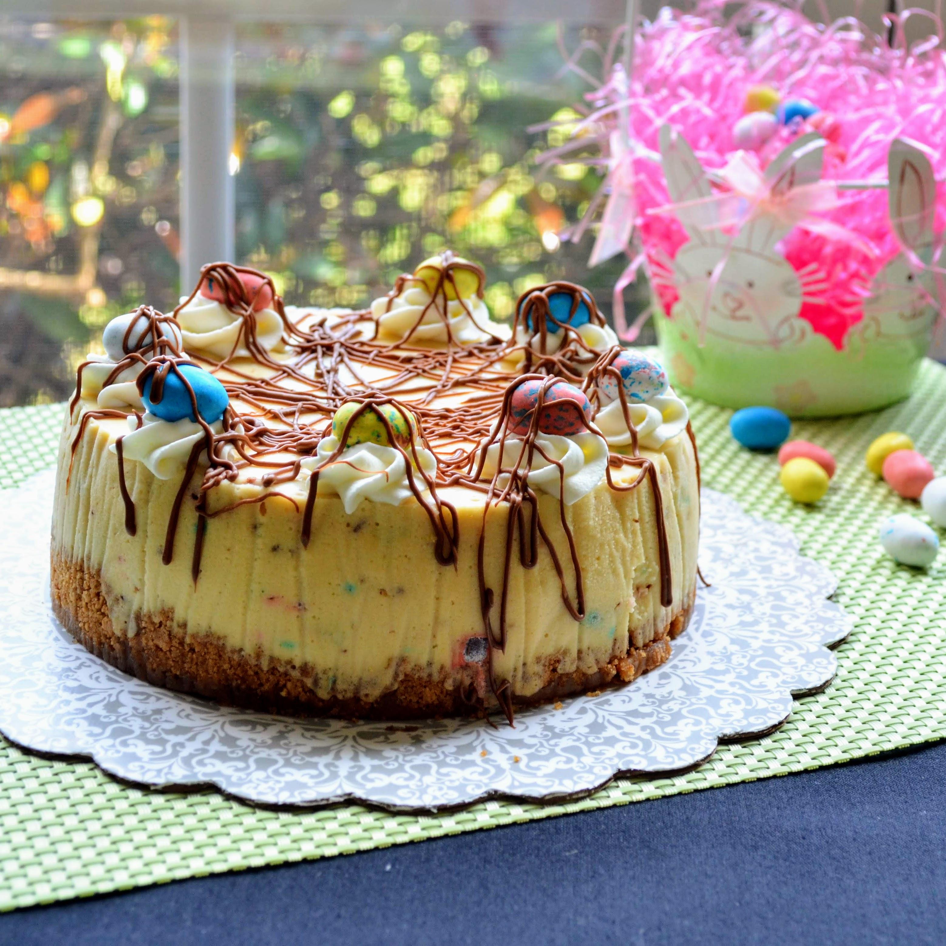 Malted Milk Instant Pot® Cheesecake