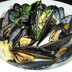 steamed mussels ii recipe