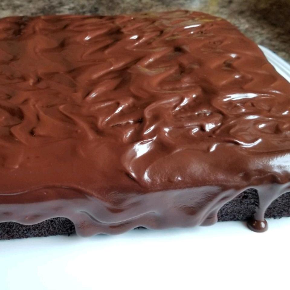 Dark German Chocolate Cake