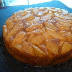 Peach Upside Down Cake I mrs.embee