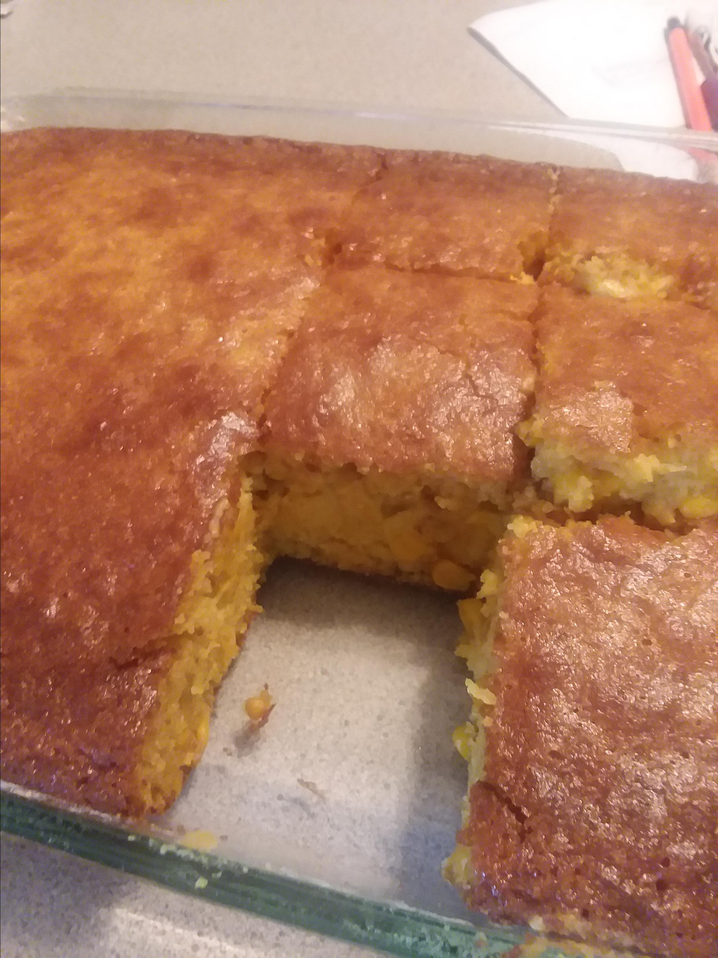 Authentic Mexican Corn Bread