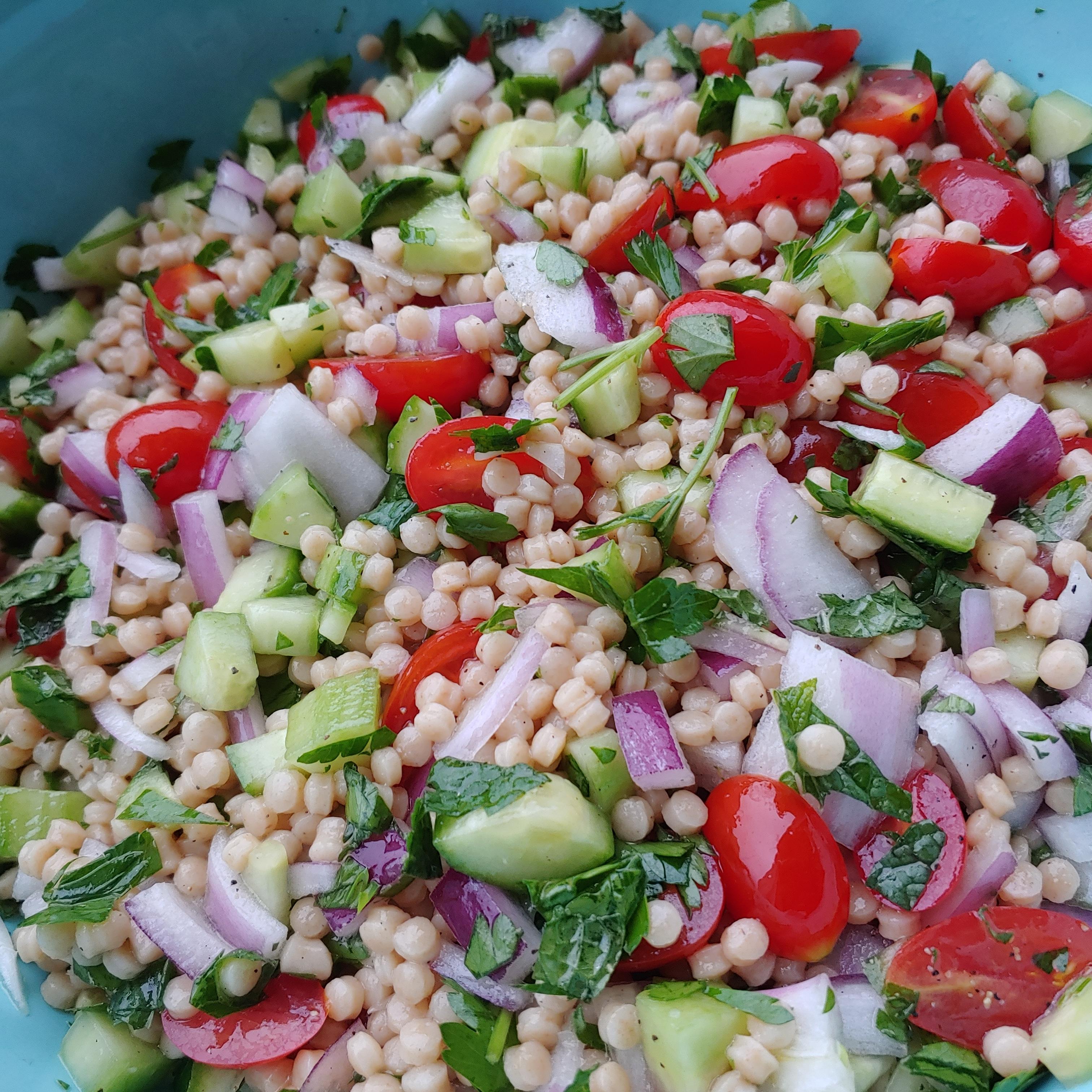 Whole Wheat Couscous Tabbouleh Tanna Dean