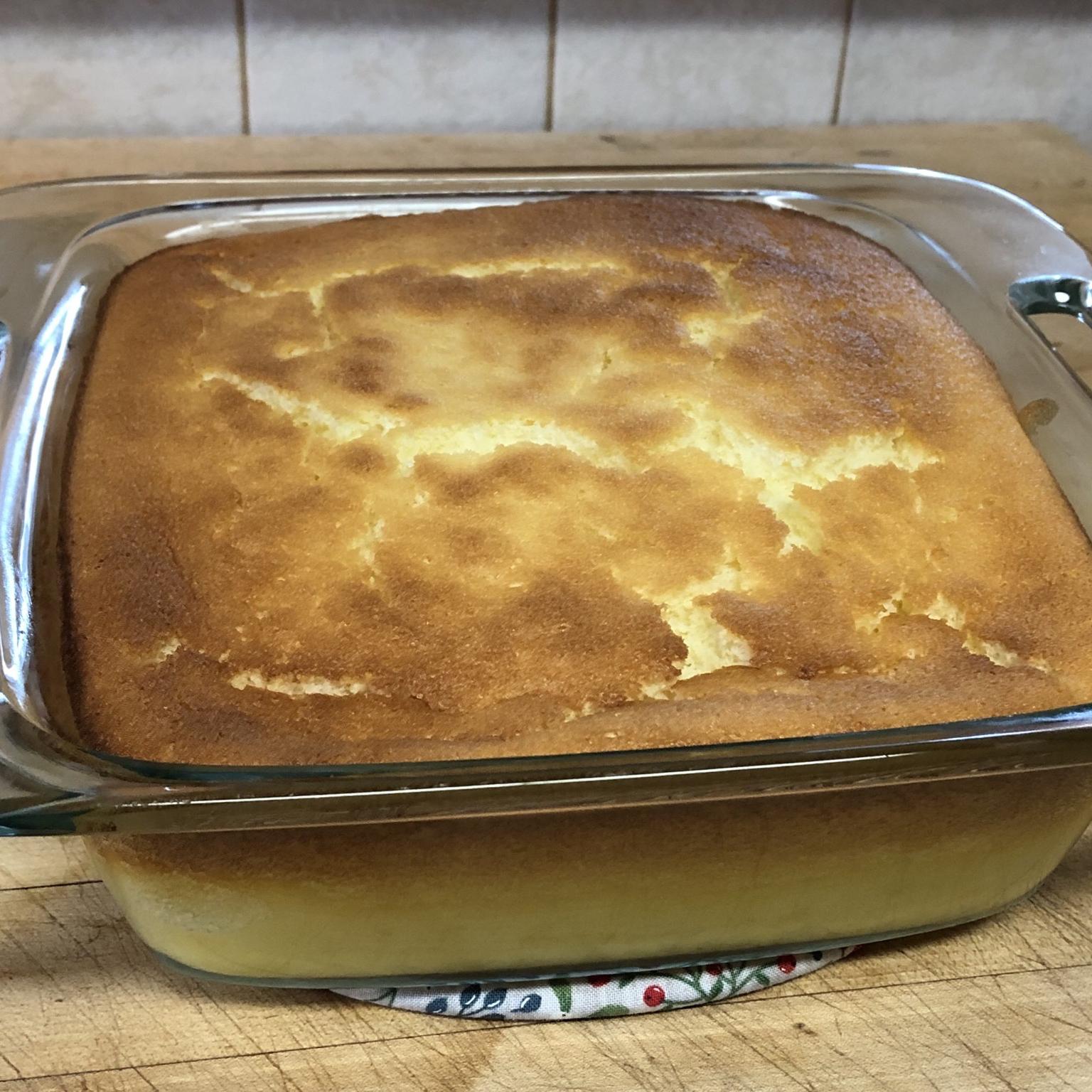 Lemon Pudding Cake I