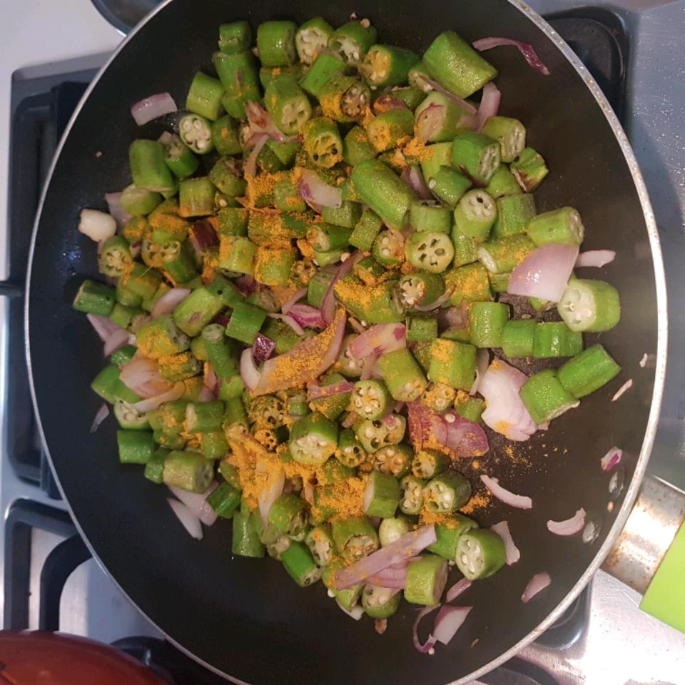Bhindi Subzi (Okra Stir-Fry) Anurag Srivastava