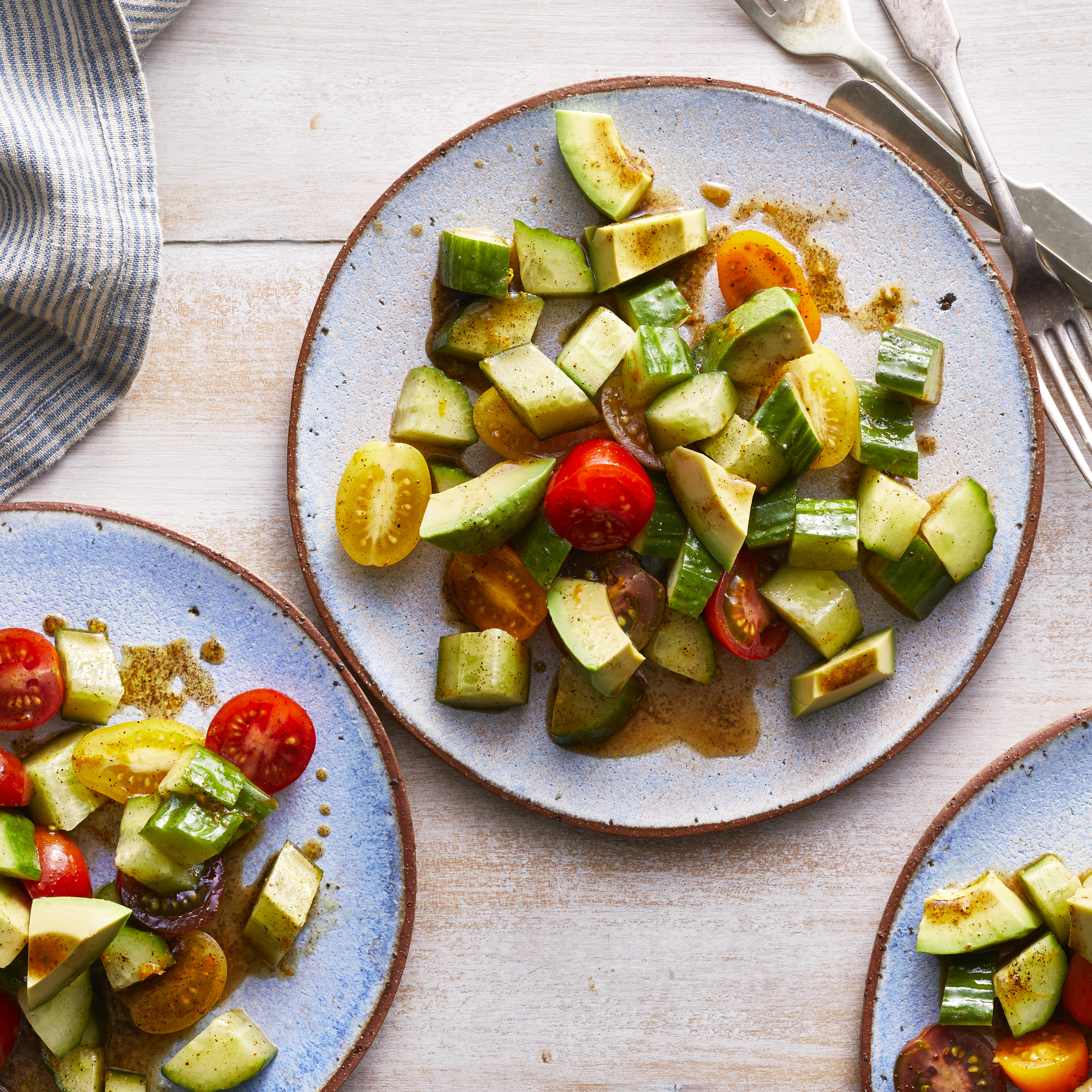 Cucumber, Tomato & Avocado Salad Trusted Brands