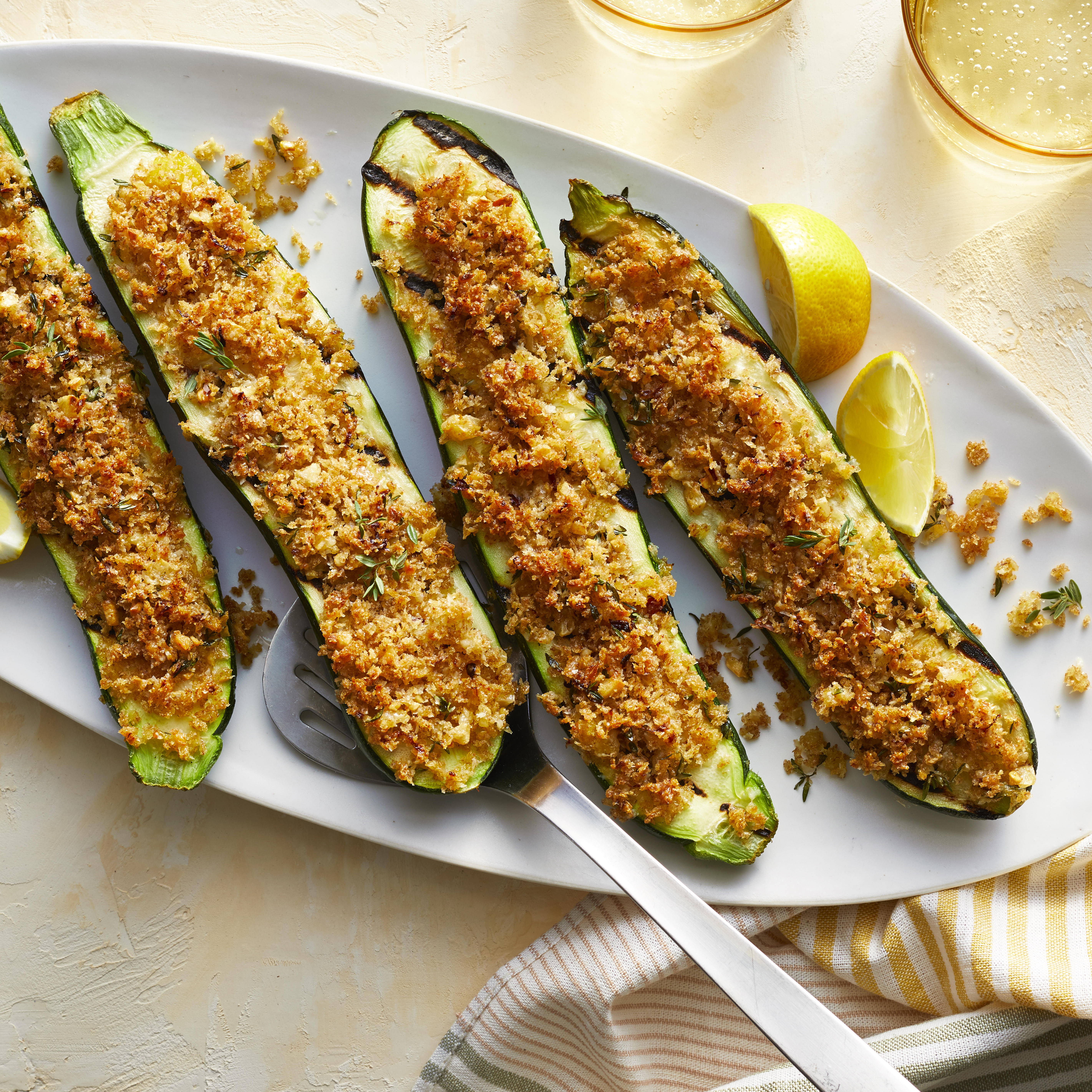 Grilled Zucchini with Parmesan Trusted Brands