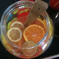 Very Fruity Rum Punch