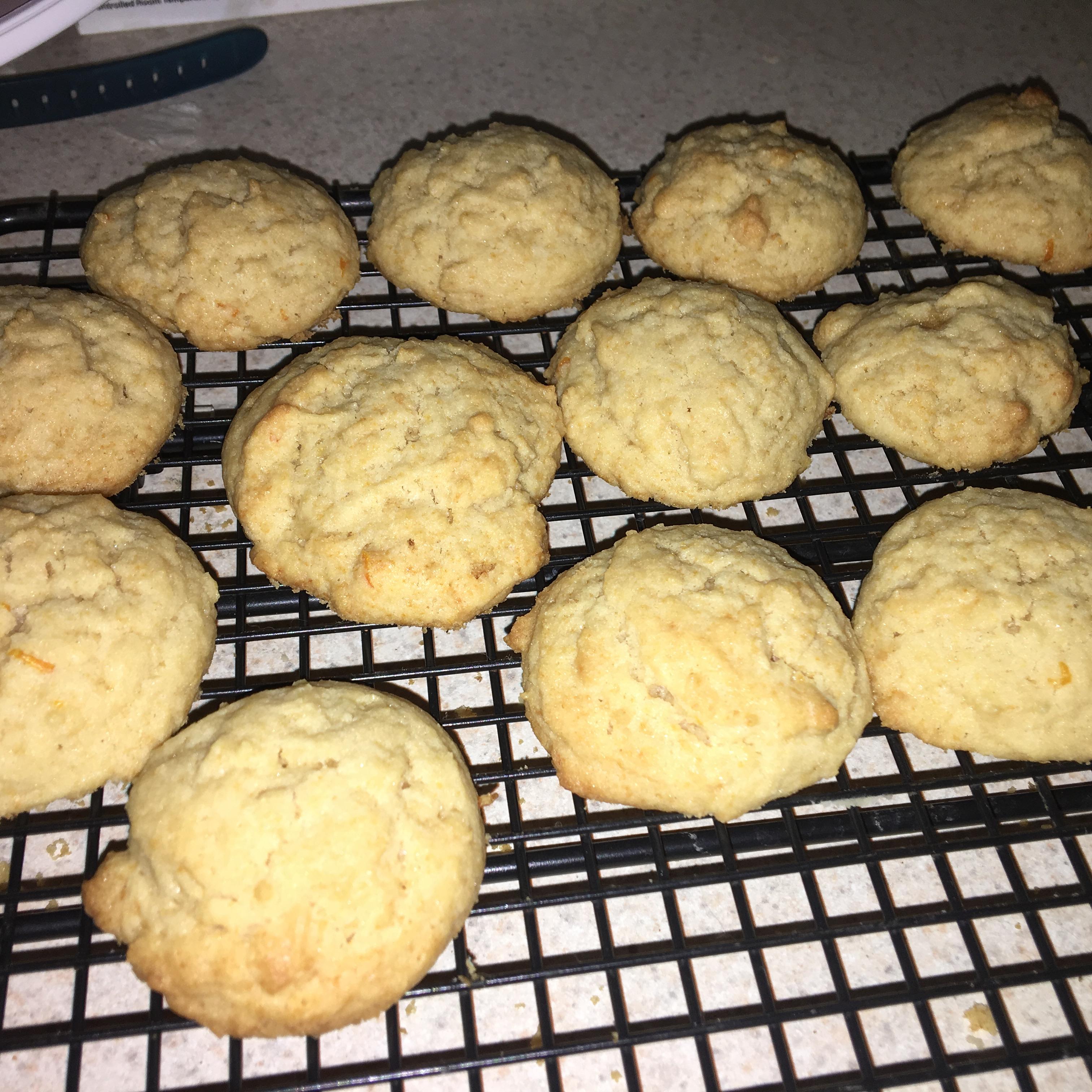 Orange Drop Cookies I TRELLA72