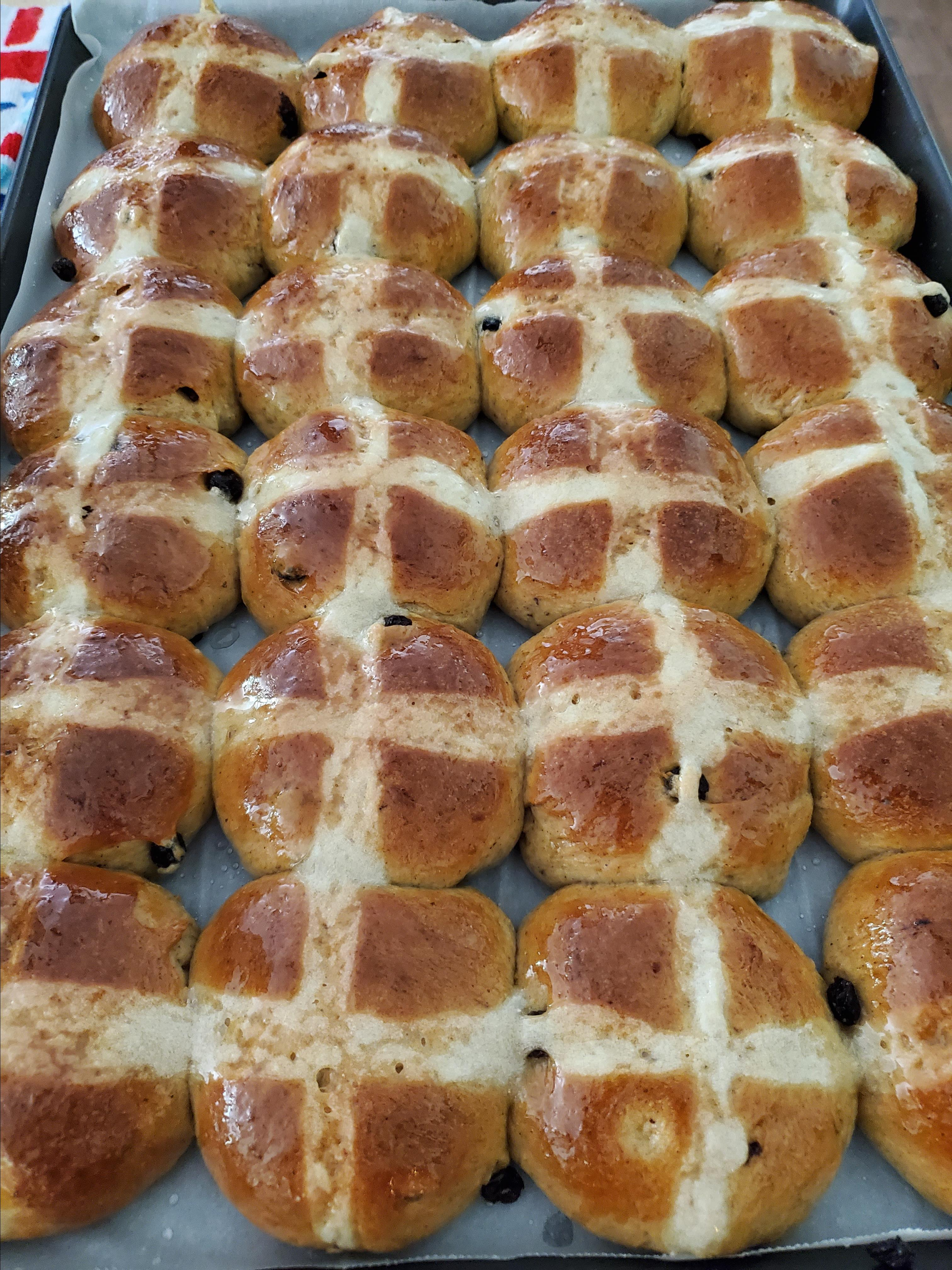 Chef John's Hot Cross Buns