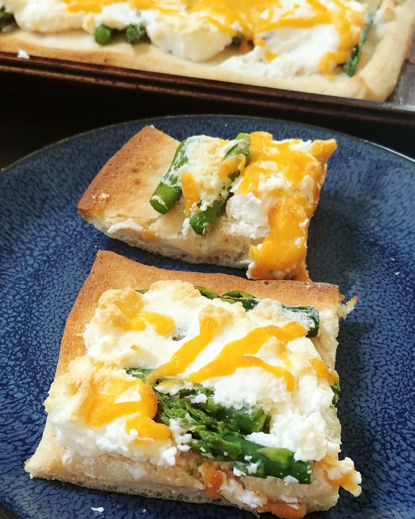 Cheesy Asparagus Snack Chef Mo