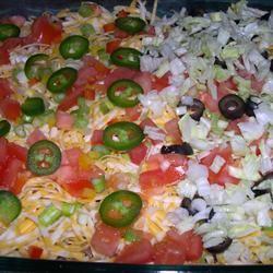Fantastic Mexican Dip Sally