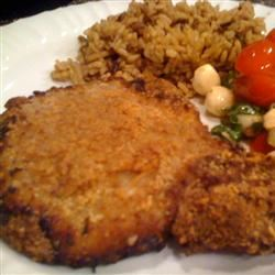 Graham Crusted Pork Chops thedailygourmet