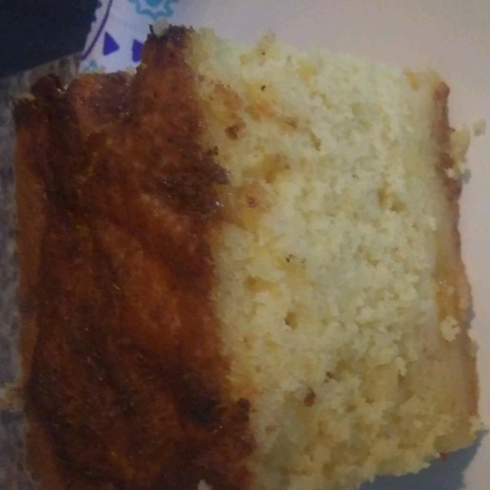 Peach Cobbler Cake charlie
