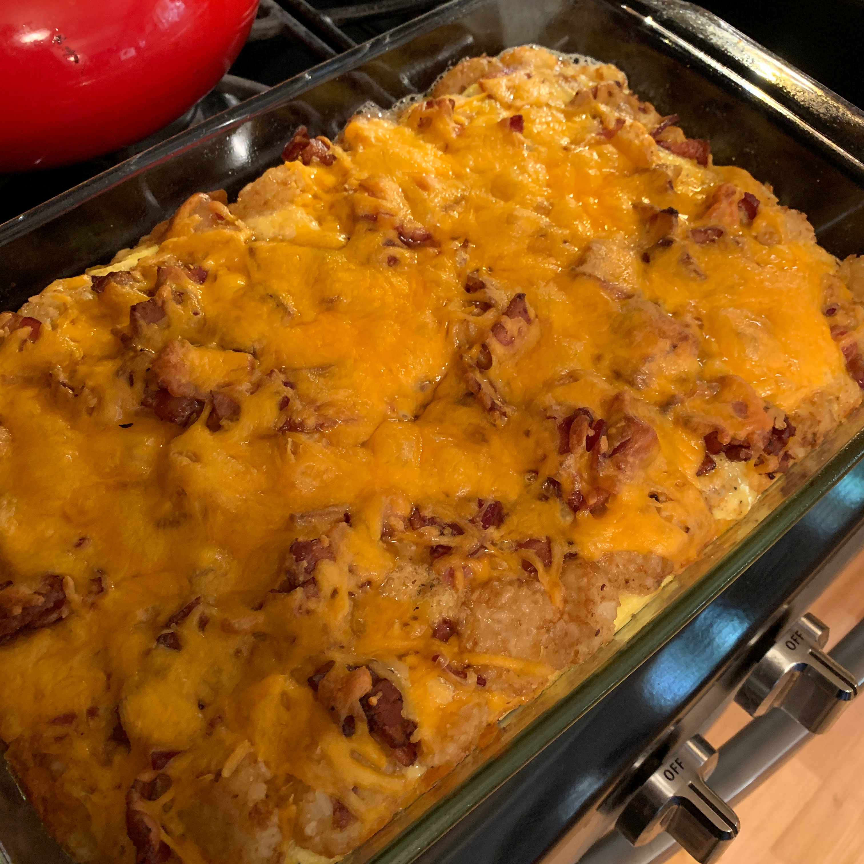 Tater Tot® and Bacon Breakfast Casserole