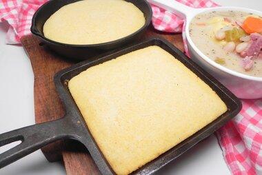 campfire cast iron cornbread recipe