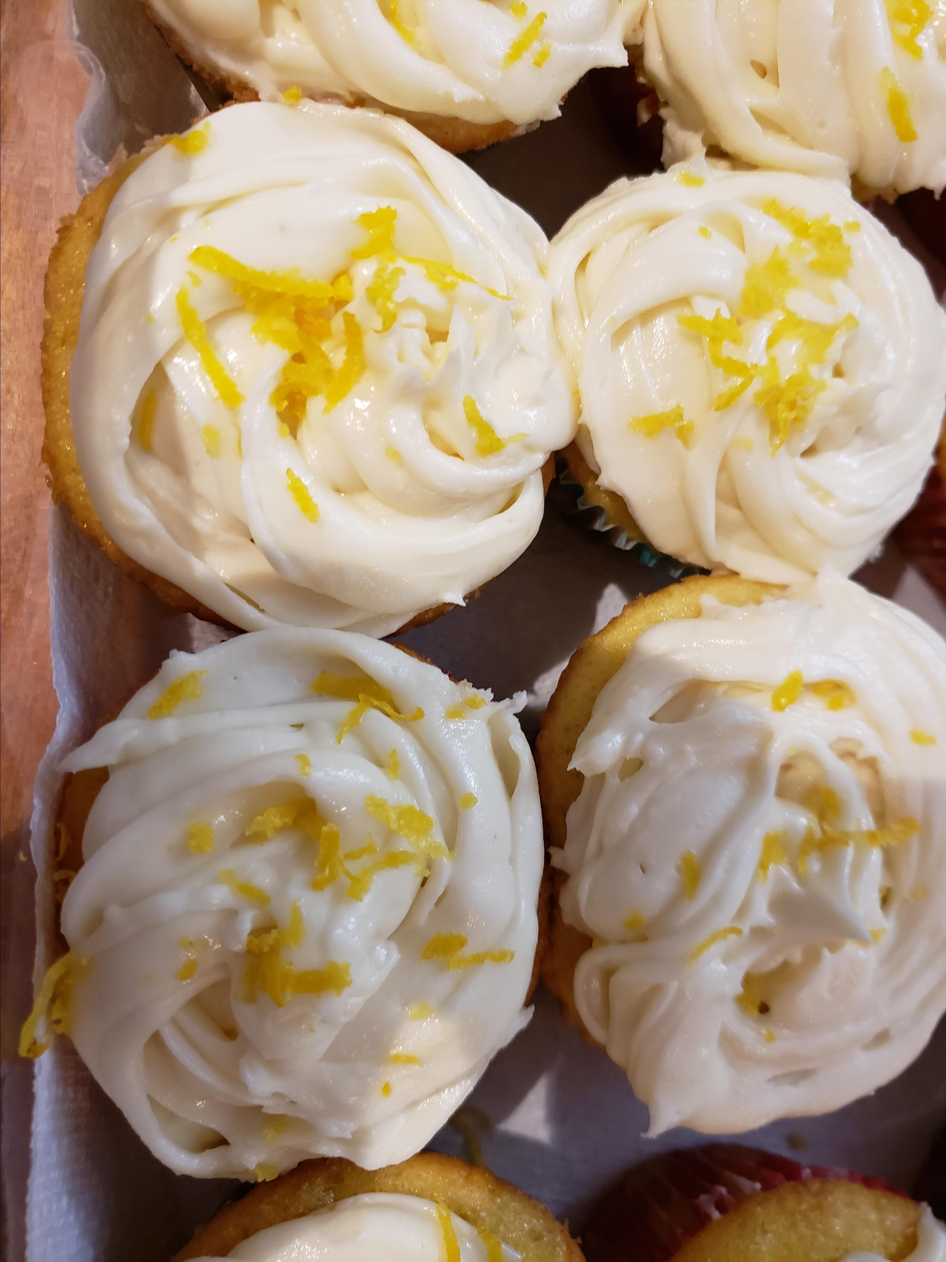 Lemon-Filled Cupcakes Carolyn Cota