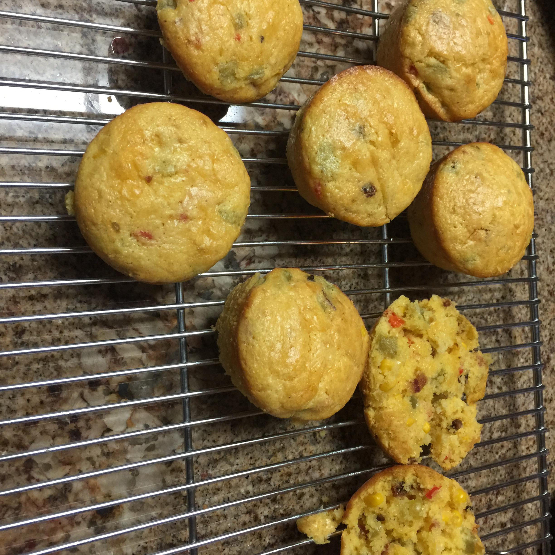 Green Chile Corn Muffins Dave Michael