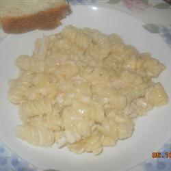 Lemon Cream Pasta with Chicken